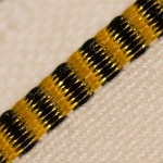 Headband - Black & Yellow