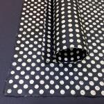 Batik Dots - Black