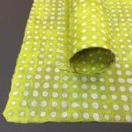Batik Dots - Lime