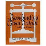 Bookbinding in Great Britain