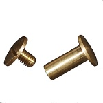 Brass Screw & Post - 13mm