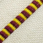 Headband - Brown & Yellow