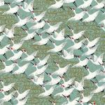 Chiyogami White Cranes