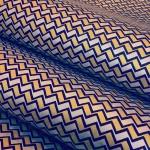 Chiyogami Blue Zigzag