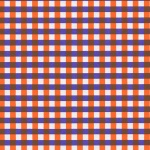 Chiyogami Gingham Orange