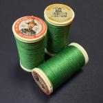 French Linen Bright Green 866