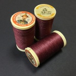 French Linen Maroon 470
