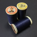 French Linen Navy 650