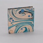 Notebook - Marbled Fantasia