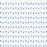 Ola Paper Dash Print - Blue