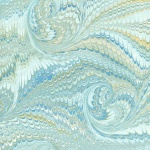 Printed Marbled Papers - No16