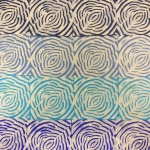 Psychedelic Rose - Blue