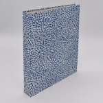 Ring Binder - Blue Rice