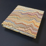 Square Paper Book - Marbled 1