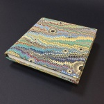 Square Paper Book - Marbled 11