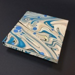 Square Paper Book - Marbled 14
