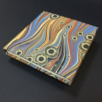 Square Paper Book - Marbled 2