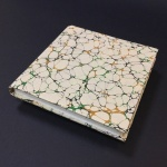 Square Paper Book - Marbled 7