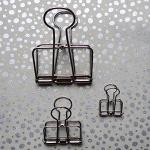 Wire clip -  silver small