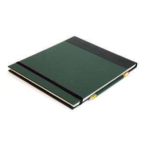Travel Sketchbook Dark Green