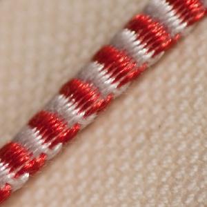 Headband - Red & White