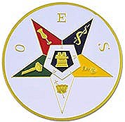 Eastern Star Auto Emblem
