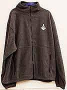 Polar Fleece Jacket in Charcoal Gray