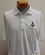 Golf Shirt Easy Care White