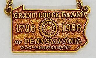 Tie Chain-PA Grand Lodge 200th