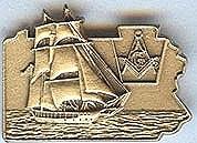2002 PA Lapel Pin
