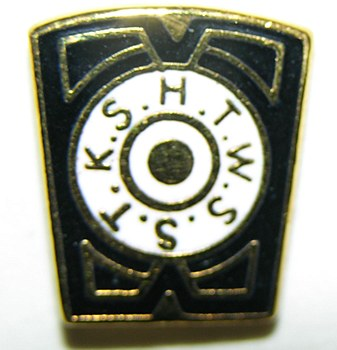 Chapter Keystone Lapel Pin