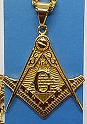 Masonic Plramid Necklace-small