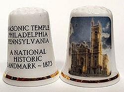 Thimble of Masonic Temple