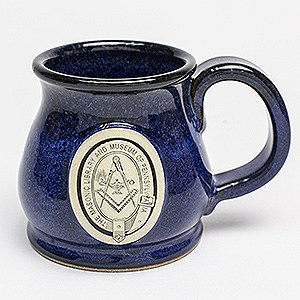 "Our Blue ""Potbelly"" Mug is Made in USA!"