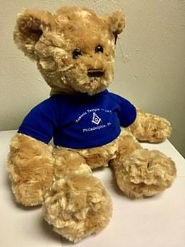 Masonic Temple Teddy Bear
