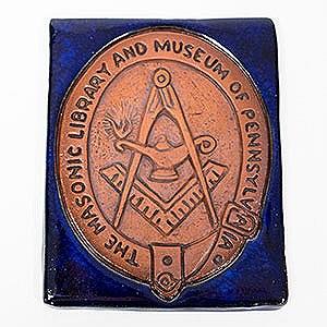 Tile of Masonic Library & Museum of Pennsylvania