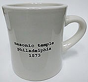 Diner Mug:Masonic Temple