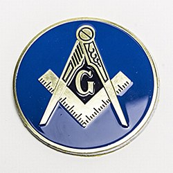 Blue Lodge Auto Emblem