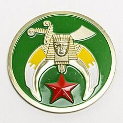 Shrine Auto Emblem, Green