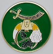 Daughters of/Nile Auto Emblem.