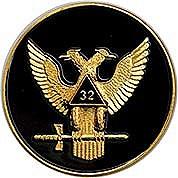 Scottish Rite wings up emblem
