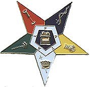 Eastern StarDie-Cut Auto Emblem