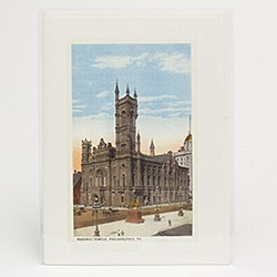 Antique Image Blank Note Card