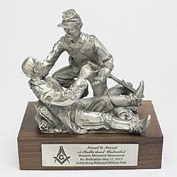 Friend to Friend Rededication Sculpture