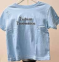 Future Freemason Baby Tee Shirt