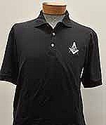 Black Golf Shirt Large