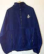 Polar Fleece Jacket in Navy Blue