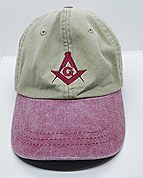 Khaki 100% Cotton Ball Cap