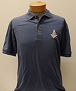 Golf Shirt Cotton Storm Blue