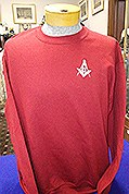 Garnet Red Sweatshirt Large